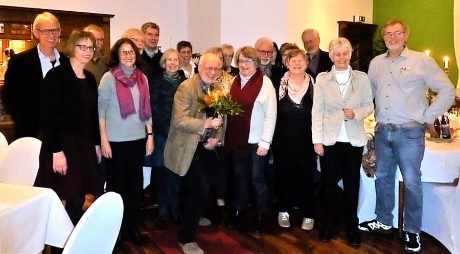 Die geehrten langjährigen Mitglieder der GEW. (Foto: privat)