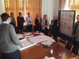Einige Teilnehmer des netzwerkstreffens zur Integrationsarbeit im Sitzungssaal des Rathauses am vergangenen Donnerstag. (Foto: privat)