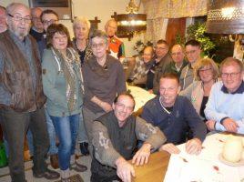 Eine rührige Truppe: die Radsportabteilung des HSC mit der alten und neuen Vorsitzenden Hanne Schön (vorn 2. von rechts). (Foto: privat)