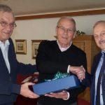 Ex-Fußballobmann Horst Rabe wird 80