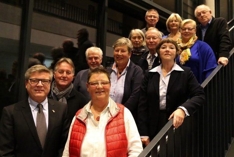 Der Gesamtvorstand des Freundeskreises Holzwickede -Louviers. (Foto: privat)