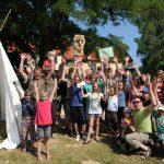 Leben wie die Indianer: Vater-Kind-Festival in Holzwickede