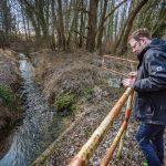 Gewässerschau: Schmutzwasser der A1 landet im Natorper Bach