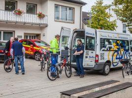 Weil das Angebot nur wenig genutzt wird, kommt die mobile Radwache nur noch einmal monatlich nach Holzwickede. (Foto: P. Gräber - Emscherblog.de)