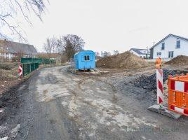 Der Krumme Weg wird künftig nur noch in Blickrichtung mit Tempo 20 befahrbar sein. (Foto: P. Gräber - Emscherblog.)