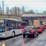Unterführung Nordstraße: Bedarfsampel regelt Verkehr