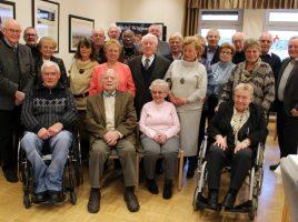 Der Trägerverein hatte seine im Januar und Februar geborenen Mitglieder zur Geburtstagsnachfeier in den Seniorentreff eingeladen. Älteste Besucher waren Heinrich Gieselmann mit 93 und Herta Saake mit 85 Jahren. (Foto: privat)