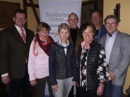 Der neue Vorstand der Senioren Union mit dem neugewählten Vorsitzenden Manfred Bolle (2.v.r.) (Foto: privat)
