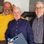 HSC gratuliert Manfred Stappers zum 70.