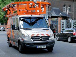 """Mit einem solchen Fahrzeug wird das Unternehmen """"eagle eyes technoplogies"""" ab 4. April die Straßen der Gemeinde befahren und ihren Zustand erfassen. (Foto: www.ee-t.de)"""