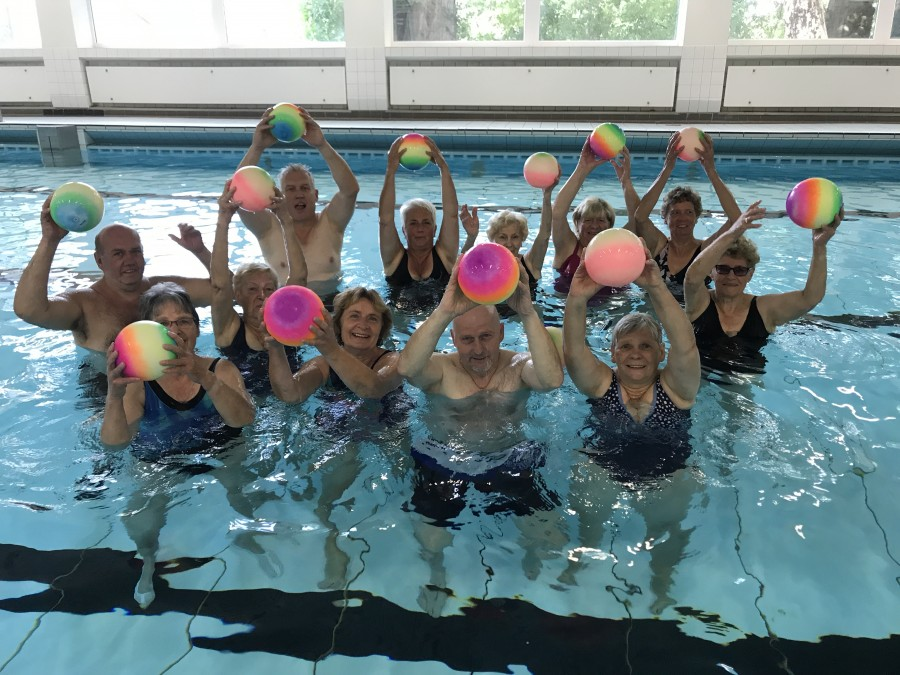 Der HWSC bietet zwei weitere der begehrten Wassergymnastik-Kurse ab kommenden Samstag (14. April) in der Kleinschwimmhalle an. (Foto: HSC)