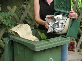 Die GWA nimmt die Eigenkompostierer und Gewerbetreibenden ins Visier. Ziel ist eine bessere Trennung und mehr Gebührengerechtigkeit.: Entsorgung in der Biotonne., (Foto: GWA)