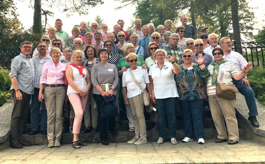 Die 47 Teilnehmer der jüngsten Kulturreise des Freundeskreises, die nach Mons führte.  (Foto: privat)