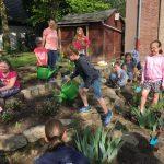 Dudenrothschule gestaltet Schulgarten um und bewirbt sich für Naturschutzpreis
