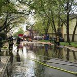 Unwetter fegt über Gemeinde und beschert Feuerwehr Großeinsatz