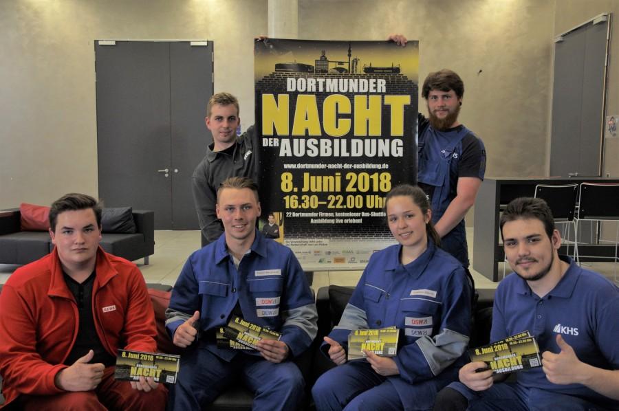 Bei der Nacht der Ausbildung in Dortmund haben interesierte Jugendliche die Möglichkeit, in Unternehmen hineinzuschnuppern, die sich sonst nicht so einfach öffnen. (Foto: IHK Dortmund)