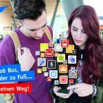 Mit Fahrtwind-App zum Ziel: Info zu Strecken, Tarifen und Leihrädern
