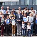 Landrat Makiolla gratuliert Neubürgern in Feierstunde