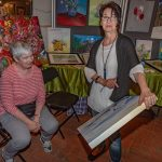 Rundum zufriedene Gesichter beim 7. Malermarkt auf Haus Opherdicke