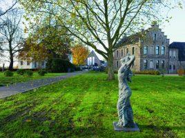 Im November 2017 wurde der Skulpturenpark eröffnet – auch im Sommer ist er einen Ausflug wert. (Foto: Thomas Kersten - Kreis Unna)