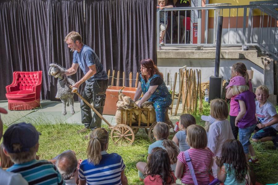Das Sternschnuppentheater wird beim Sommerfest der Villa auch wieder eine Kindertheater aufführen. (Foto: P. Gräber - Emscherblog.de)