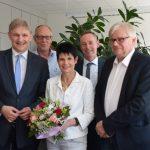 Landrat sagt Dankeschön: Agentur-Geschäftsführerin im Ruhestand