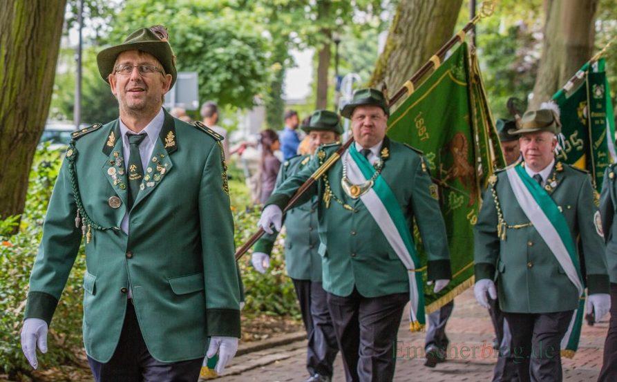 Am kommenden Wochenende marschieren sie wieder: die Holzwickeder Bürgerschützen laden zum 153., Schützenfest. (Foto: P. Gräber - Emscherblog.de)
