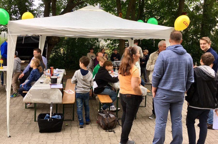 Die CDU hatte am Sonntag zum Familientag auf den Marktplatz eingeladen. Foto: privat)