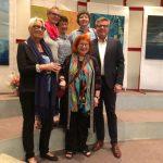 Ausstellungseröffnung zum Auftakt der Feierlichkeiten in Louviers