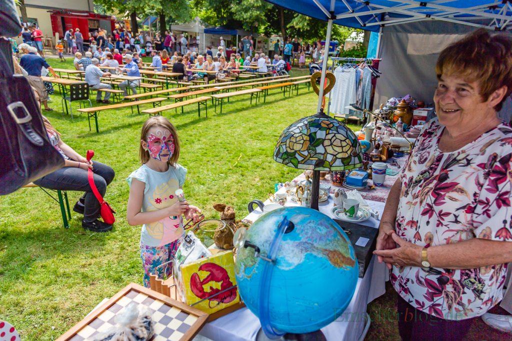 Die evangelischen Kirchengemeinde feierte heute ein buntes Gemeindefest für die ganze Familie. (Foto: P. Gräber - Emscherblog.de)