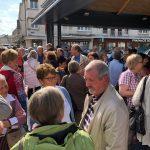 Großer Bahnhof für die Gäste aus Holzwickede in Louviers