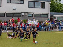 Der HSC hatte heute (24. Juni) zum Saisonabschluss mit Kindergarten-Cup auf die Haarstrang-Sportanlage eingeladen. (Foto: P. Gräber - Emscherblog.de)