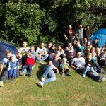 Zeltlager am Familienzentrum Löwenzahn ein Riesenspaß