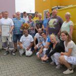 Malerbetrieb Clausius: Überraschung im Kollegenkreis