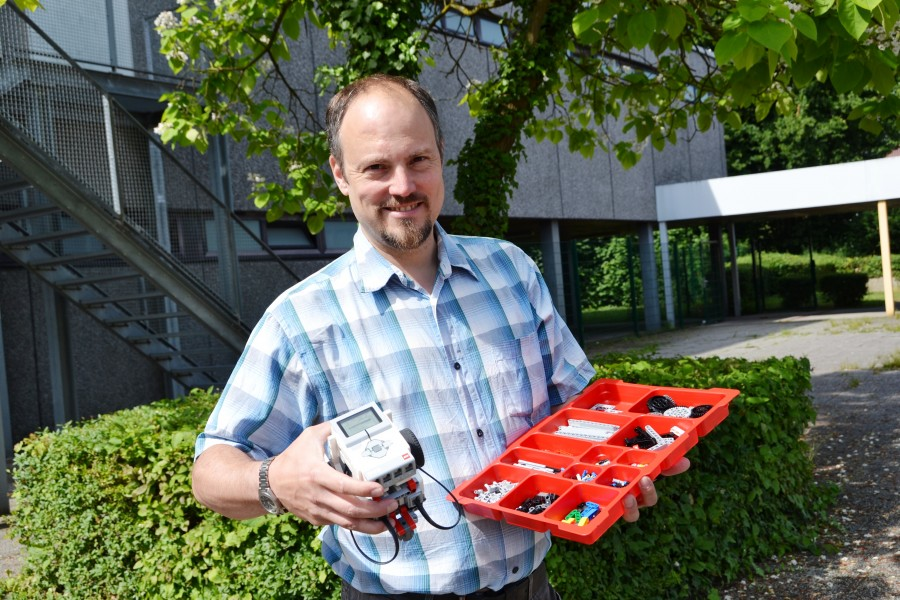 Freut sich auf möglichst viele Teilnehmer: Matthias Müller vom zdi-Netzwerk Perspektive Technik. (Foto: zdi-Netzwerk)