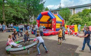 Mit einem großen Schulfest feierte die Paul-Gerhardt-Schule in Hengsen heute ihren 60. Geburtstag. (Foto: P. Gräber - Emscherblog.de)