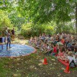 Traditionelles Sommerfest im Treffpunkt Villa lockt kleine und große Besucher