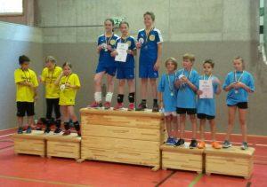 Dudenrothschüler Vizemeister bei Volleyball-Kreismeisterschaften
