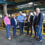 SPD-Spitzen besuchen Vincenz Wiederholt GmbH