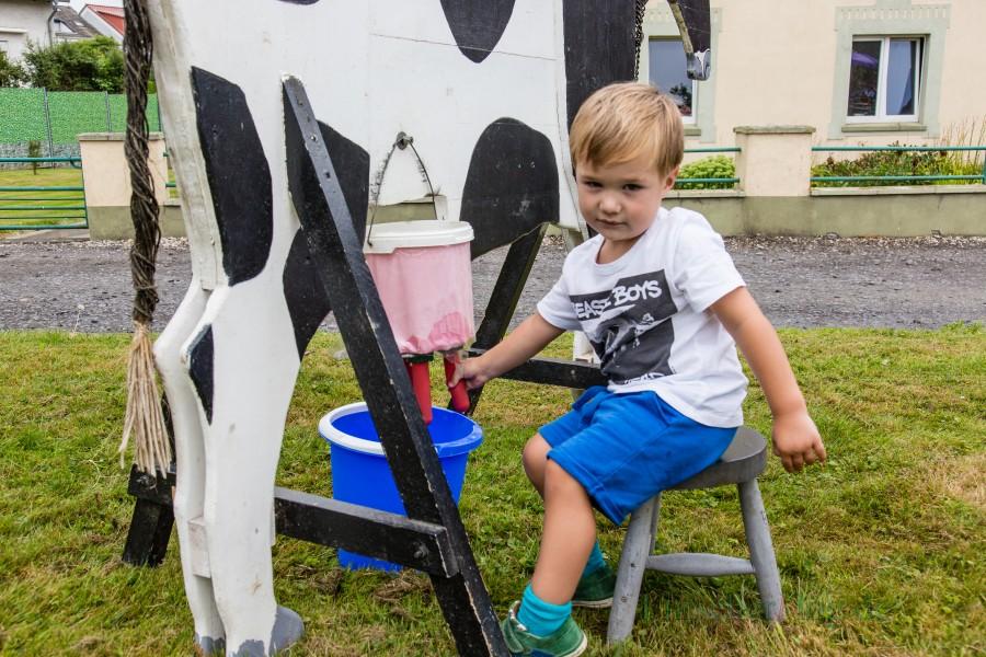 """""""O' zapft is """" fürs 4. Haarstrangfest auf dem Hof Strenge–Erbstößer am ersten Samstag im August. (Foto: P. Gräber - Emscherblog.de)"""