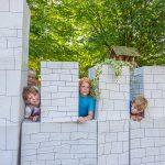 Ferienkinder der OGS reisen ins Mittelalter