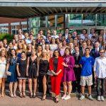 Zeugnisausgabe für Abiturjahrgang 2018 des Clara-Schumann-Gymnasiums