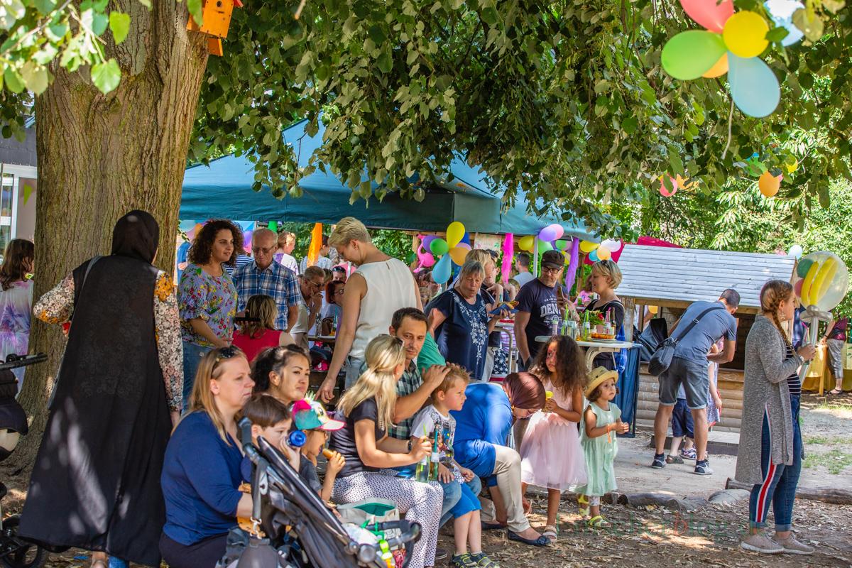 Das evangelische Familienzenbtrum Löwenzahn feioerte heute ein großes Familienfest. (Foto: P. Gräber - Emscherblog.de)