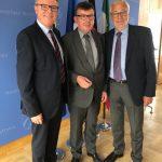 Abschied vom französischen Generalkonsul Vicent Muller