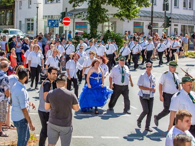 Schützenumzug 2018 (Foto: P. Gräber - Emscherblog.de)