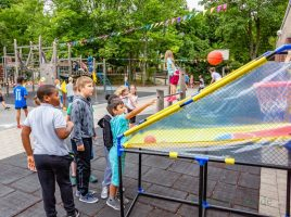 Die Nordschule und die Kita Nord-Licht feierten heute ihr traditionelles Spielefest im Norden. (Foto: P. Gräber - Emscherblog.de)