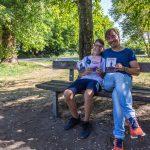 Literarisch-lukullischer Abend im Vivo: Lesung mit Vater und Sohn