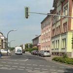 Baumaßnahmen im Bereich der Stehfenstraße: halbseitige Sperrung