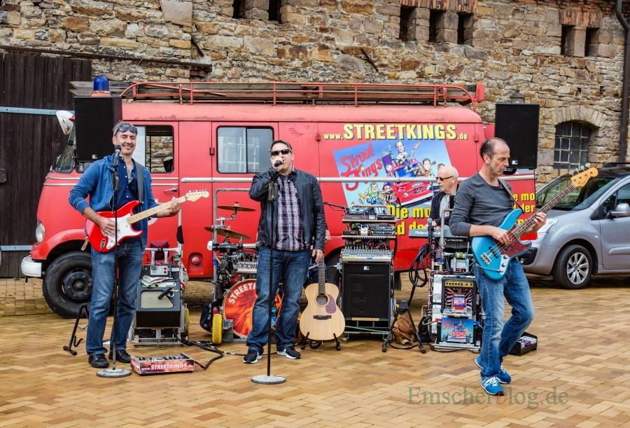 Alte Bekannte: die Streetkings sorgen auch bei der 20. RTF wieder für musikalische Unterhaltung. (Foto: P. Gräber - Emscherblog.de)