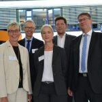 Zweites Gespräch im Eco Port: Info zu Testbuslinie und Breitbandausbau